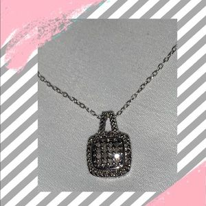 So dainty! Genuine Diamond Accent Necklace